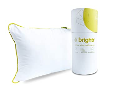 Brightr® Sleep Nox Best Adjustable Pillow with Copper Hypo-Allergenic Pillow Cover for neck and shoulder pain | Soft - Feels Like Down | All Sleep Positions - Side, Back And Stomach