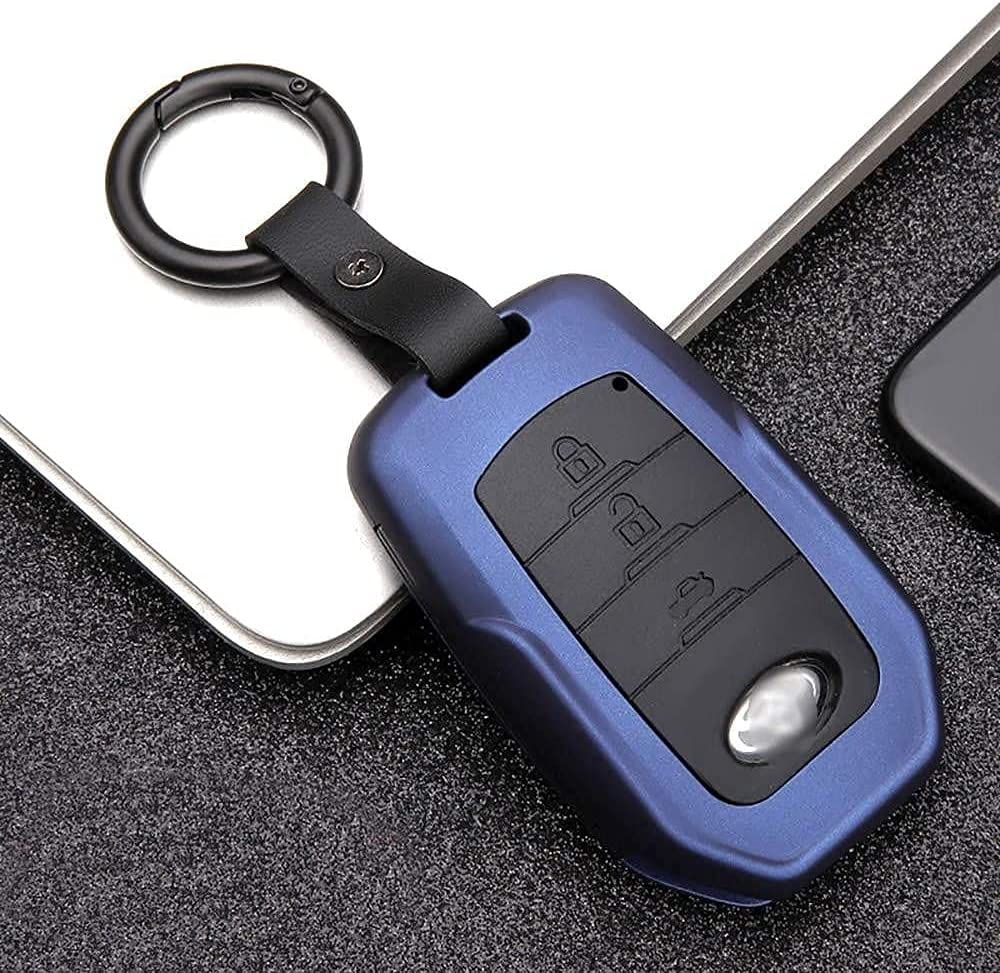 Key Fob Max 69% OFF Max 46% OFF Cover Case Carbon Texture with for Fiber Chian,Fit