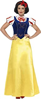 Women's Princess Snow Costume, Dress, Collar and Headband, Wings and Wishes, Serious Fun, Size 14-16, 24643