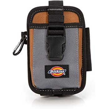 Dickies Work Gear 57099 4-Pocket Rigid Tool Pouch with Tape Clip