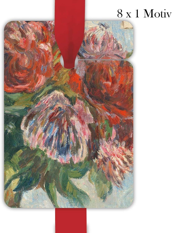 4x8 Gauguin Blaumen Geschenkanhänger   Geschenkkarten   Papieranhänger   Hänge Etiketten   Tags, Format 6,9 x 10cm mit PfingstRosan Detail B07NVHMR9F  | Qualität Produkt