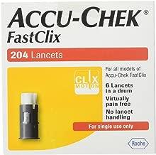 ACCU-CHEK FastClix Lancets 200+4 lancets