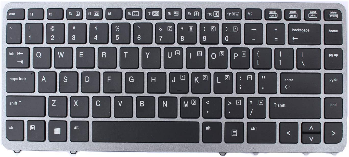 ACOMPATIBLE Replacement Oakland Mall Keyboard for HP 85 G1 G2 EliteBook Direct stock discount 840