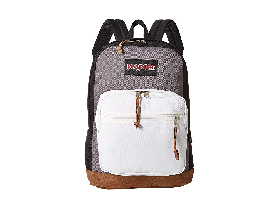 JanSport Right Pack (Black/Grey Horizon) Backpack Bags