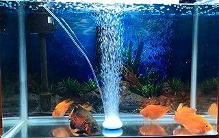 Air Stone, Fish Tank Bubbler, Nano Bubble Stone, High Dissolved Oxygen Diffuser for Fish Tank
