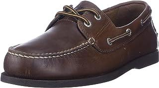 Men's Vargas Leather Handsewn Boat Shoe