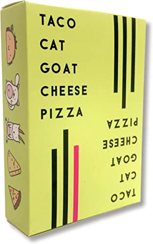 Version 1.0 Taco Cat Goat Cheese Pizza Card Game