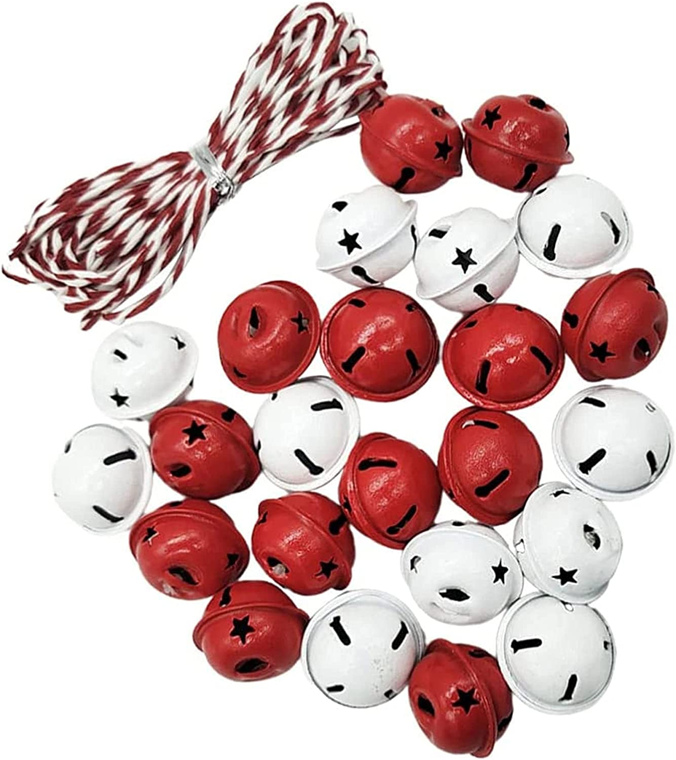 YYDMBH gift Christmas Decorations 2 Now on sale X DIY Hanging Bells Rope with Min