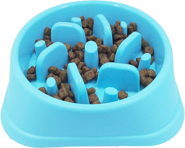 JASGOOD Cane Feeder Slow Eating Pet Bowl Eco -Friendly Durable Non -Toxic Preventing Choking Healthy Design Bowl per Dog Pet Stop Bloat Bowl