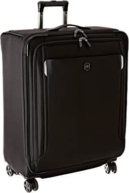 "Werks Traveler 5.0 - WT 27"" Dual Caster Expandable 8-Wheel Upright"