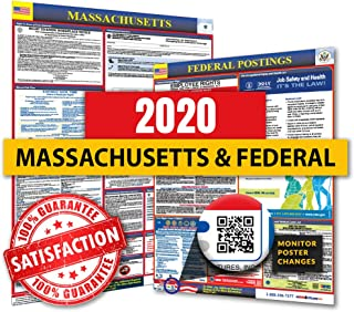 2020 Massachusetts State & Federal Labor Law Posters for Workplace