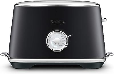 Breville Two Slice Toaster, Black Truffle, BTA735BTR