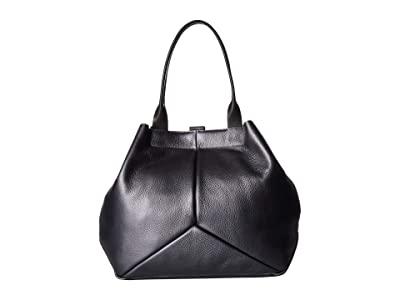 ECCO Ella Shopper (Magnet Metallic) Tote Handbags