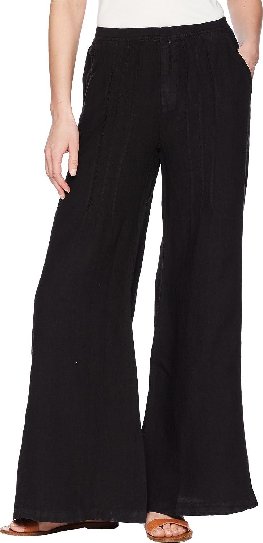 XCVI Womens Ebba Linen Pinstripe Pants