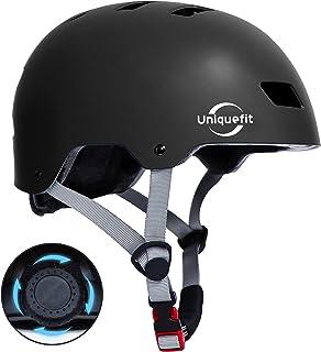 کلاه ایمنی محافظ قابل تنظیم برای کودکان بزرگسال UniqueFit برای اسکوتر دوچرخه سواری دوچرخه سواری ، سن 5 سال به بالا