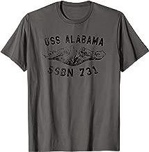 USS Alabama SSBN 731 Submarine Badge Vintage T-shirt