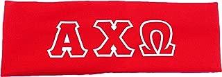 Alpha Chi Omega Sorority Greek Letters Headband