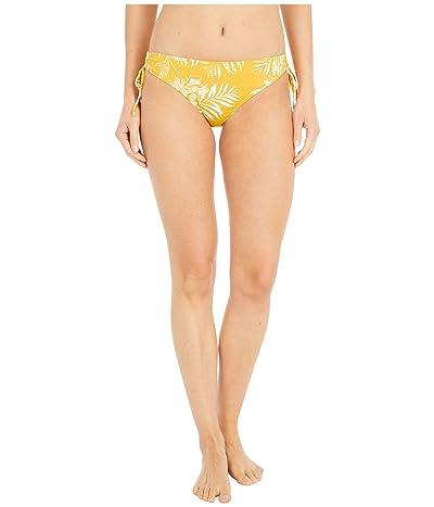 Roxy Print Beach Classics Fashion Full Bikini Bottoms (Mineral Yellow) Women