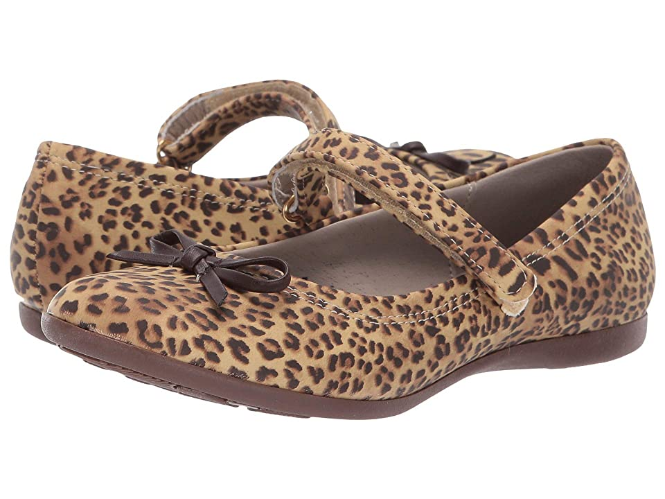 Kid Express Rosie (Toddler/Little Kid/Big Kid) (Cheetah Print) Girls Shoes