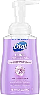 Dial Pure Micellar Foaming Hand Soap, Hyacinth, 7.5 Ounce
