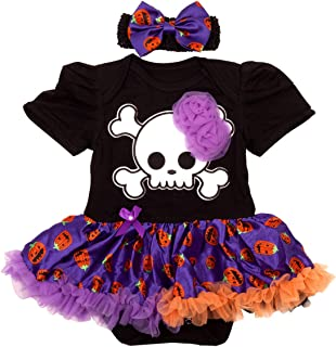 Baby Girls Halloween Romper Dress Outfits Clothes