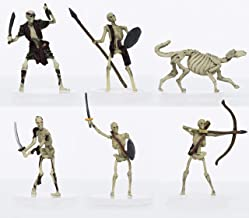 Characters of Adventure - Skeletons Party of 6 - Plastic Miniature for D&D or Pathfinder