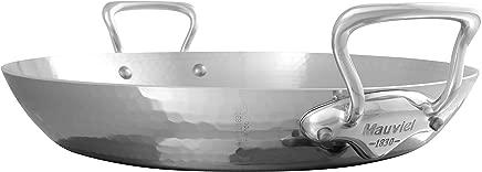 Mauviel 5277.35 M'Elite Paella pan, 13.8, Stainless