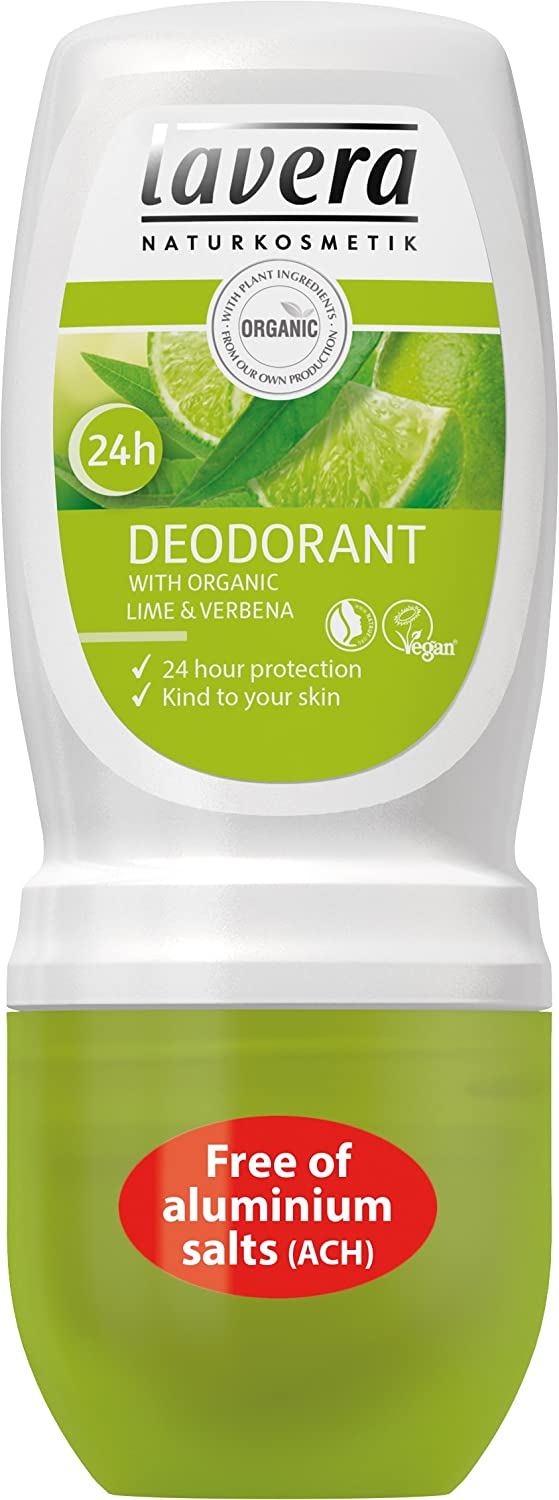 Lavera 24hr Organic Lime NEW before Award selling Deodorant Roll-On