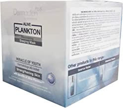 Dermaction Plus by Watsons Alive Plankton Recovering Sleeping Mask. Miracle of Youth Strengthening the skin with benefit of Alive Plankton. (40 ml/ pack)..