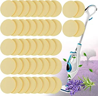 Replacement Steam Mop Scent Discs Lavender Fragrance Discs Pads Steam Mop Compatible with Bissell Powerfresh and Symphony Series Fits Model 1940, 1806 and 1132, Lavender Fresh Fragrance (48 Pack)