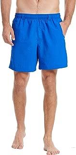 Men's Quick Dry UPF 50+ Water Shorts, Lightweight Swim Trunks with Mesh Lining