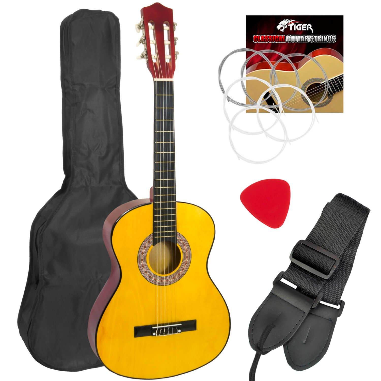 Mad About - Guitarra española clásica para zurdos, para niños (3/4 ...