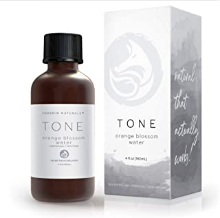 Orange Blossom Water Face Toner - 100% Natural Daily Facial Toner, Alcohol-Free for Sensitive Skin Acne and Breakouts - Best to Tone Tighten and Clear Pores - 120mL/4.oz by Foxbrim