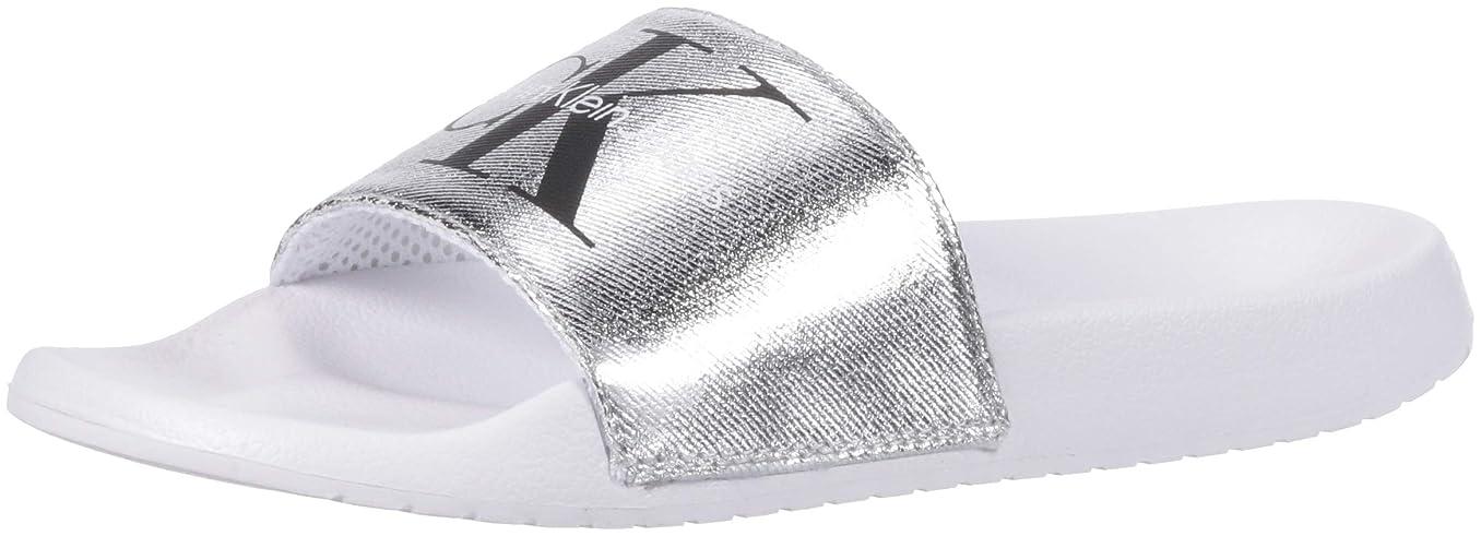 スカウトブラシ汚す[Calvin Klein] レディース US サイズ: 11 B(M) US カラー: シルバー