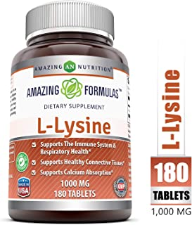 Best benefits of lysine pills Reviews
