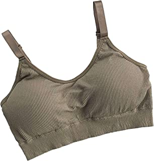 Yuansu Seamless Sports Bra Ladies Push-up Sports Top Fitness Thickening Sports Bra Vest Exercise Yoga Sports Bra (Color : ...