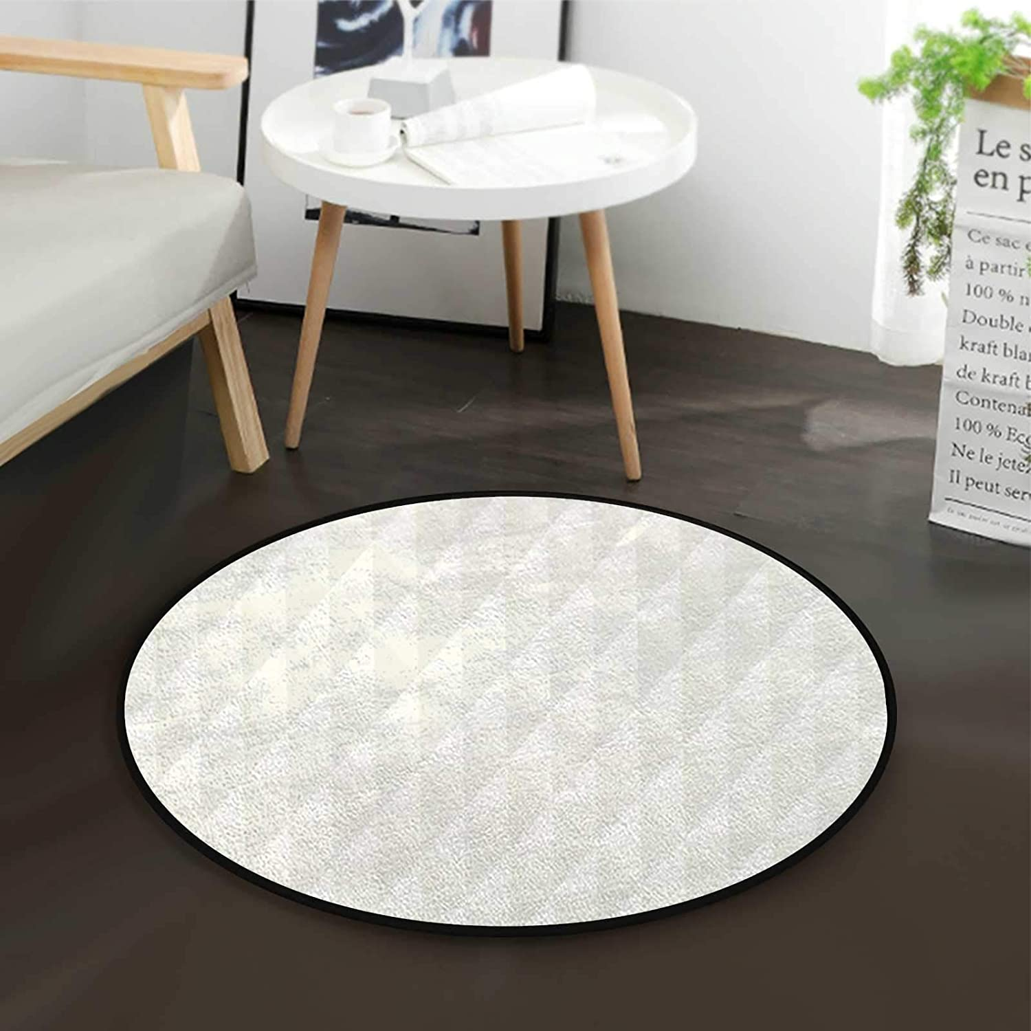 Diamond Triangle Cheap mail order specialty store Forms Office Swivel Chair Mats 70% OFF Outlet Floor Round Mat