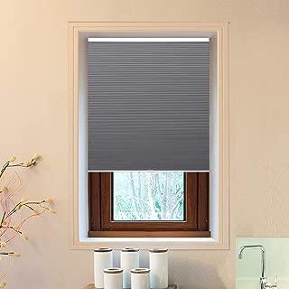 Allesin Cellular Honeycomb Blinds White Dark Gray Blackout 39