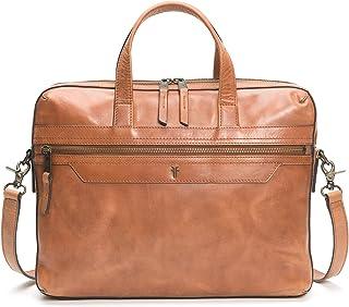 Frye Men's Holden Slim Brief Top Handle Bag, Whiskey, One Size