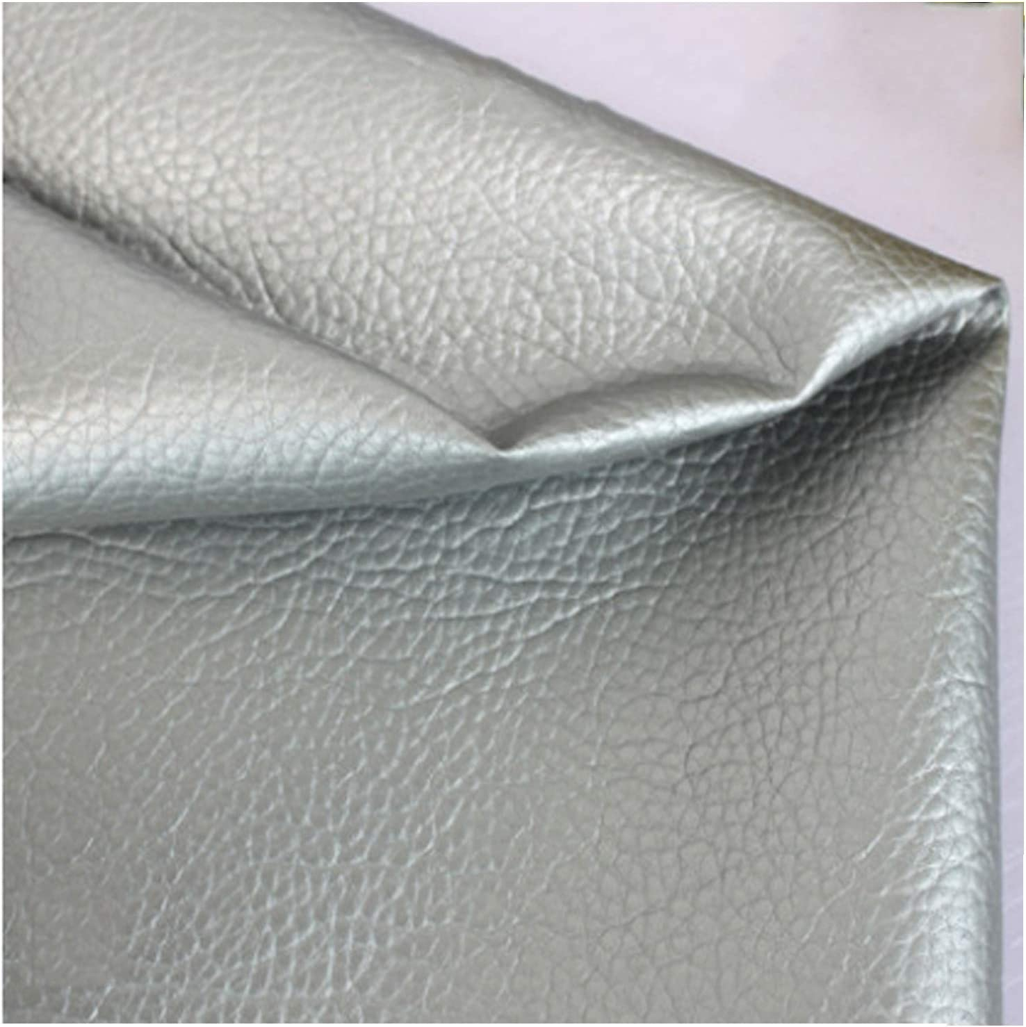 Faux Leather Sheets for Las Vegas Mall Fabric Earrings Litchi Our shop OFFers the best service Grai