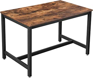 VASAGLE Dining Table, Kitchen Table for 4 People, 47.2...