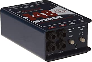 Radial J48 Stereo 2-Channel Active Instrument Direct Box