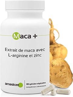 MACA + ARGININA Y ZINC * 461 mg / 180 cápsulas * Extracto