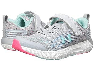 Under Armour Kids UA GPS Rogue AC (Little Kid) (Gray/Mermaid) Girls Shoes