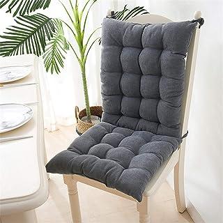 EXQULEG Coussin de chaise à dossier bas - Coussin de chaise - Coussin de chaise pour extérieur et jardin - 40 x 95 x 8 cm...