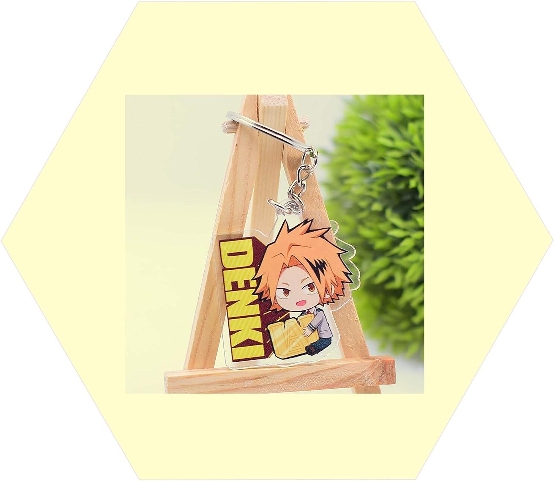 Keychain For Denki Kaminari My Hero Academia Anime Accessories Keyring Car Keys 01pc