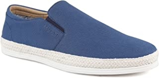 Mufti Blue Slip-on Shoes