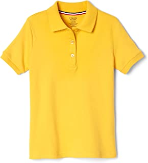 French Toast Short Sleeve Picot Collar Polo Shirt (Standard & Plus)