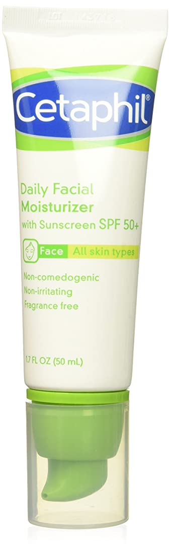 野心的四回能力Cetaphil UVA/UVB Defense SPF#50 Facial Moisturizer 50 ml