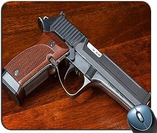 comprar comparacion Yanteng Alfombrilla de rótulo de Juego de Costura de precisión, Pistola en el Suelo Patrón Rectángulo Personalizado Alfomb...